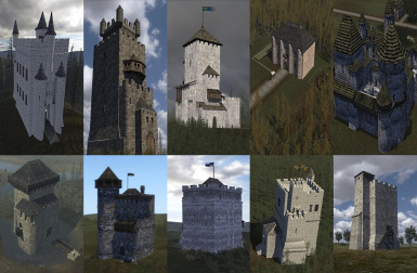 100 Calrade castles and fortresses