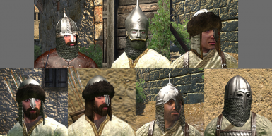 Sarranid and Vaegir Helmet Replacement