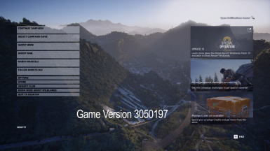 TIER 1 CAMPAIGN MODE at Ghost Recon Wildlands Nexus - Mods