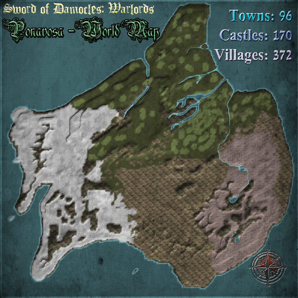 Sword of damocles warlords at mount blade warband nexus mods ponavosa world map overview gumiabroncs Choice Image