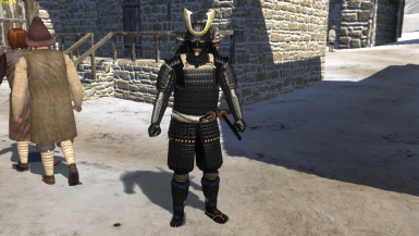 SSH samurai armour set