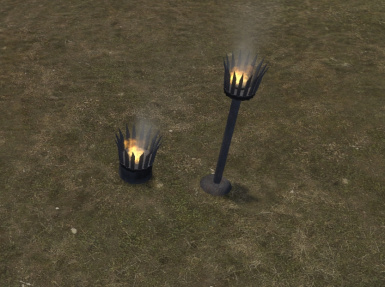 Alternative braziers and torch OSP