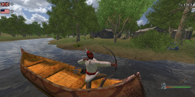 Native Bowman in Driveable Canoe - Upcoming Version