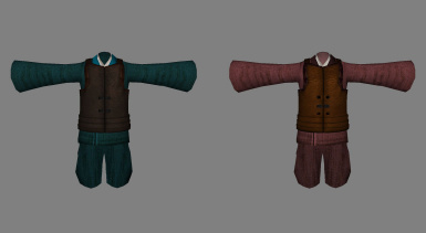 medival korean cloth-simple armor