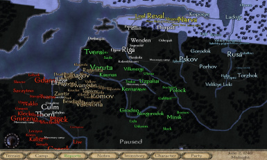 Teutonic Order Drang nach Osten beta v 093 and OSP Pack