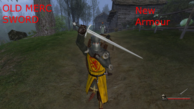 1New armour OLD MERC SWORD