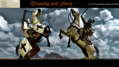 Crusades and Jihads at Mount & Blade Warband Nexus - Mods and community