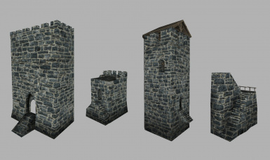 Castle Props Retextured - LSP