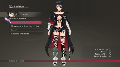 Velvet's Bloody Mary Outfit