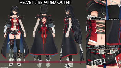 Velvet's Repaired Outfit