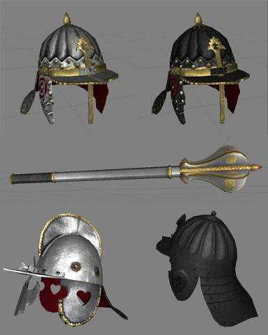 New helmets and mace in 1.5