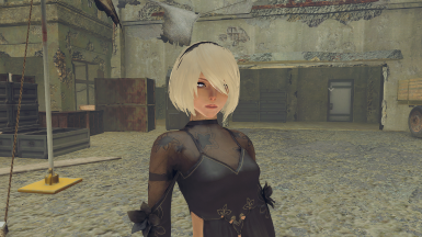 2B's Hair for A2
