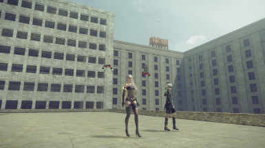 2B 9S A2 - Additional Player Model Replacements