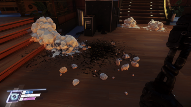 More blood and goo broken pieces whit improved physics when hitting