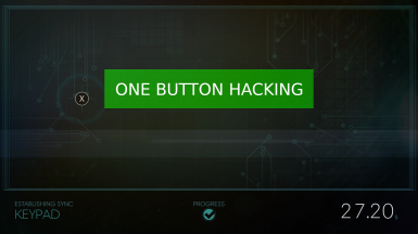 One Button Hacking for Prey 2017