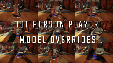 1st person player model overrides