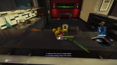 General Access keycard on the counter for the Add Apartment Loot option