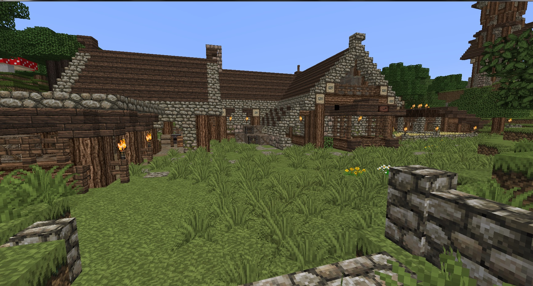 Rustic Medieval World at Minecraft - mods and community