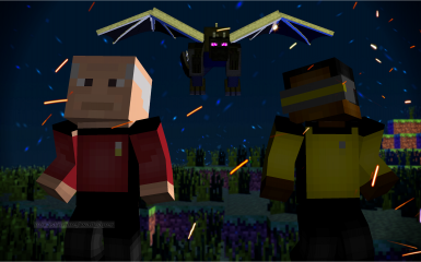 MineTrek- Star Trek skin pack