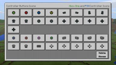 Controller Buttons Icons (W10 Only)