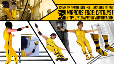 Game of Death Kill-Bill Inspired Outfit