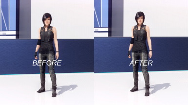 Mixed Outfit Clipping Fix