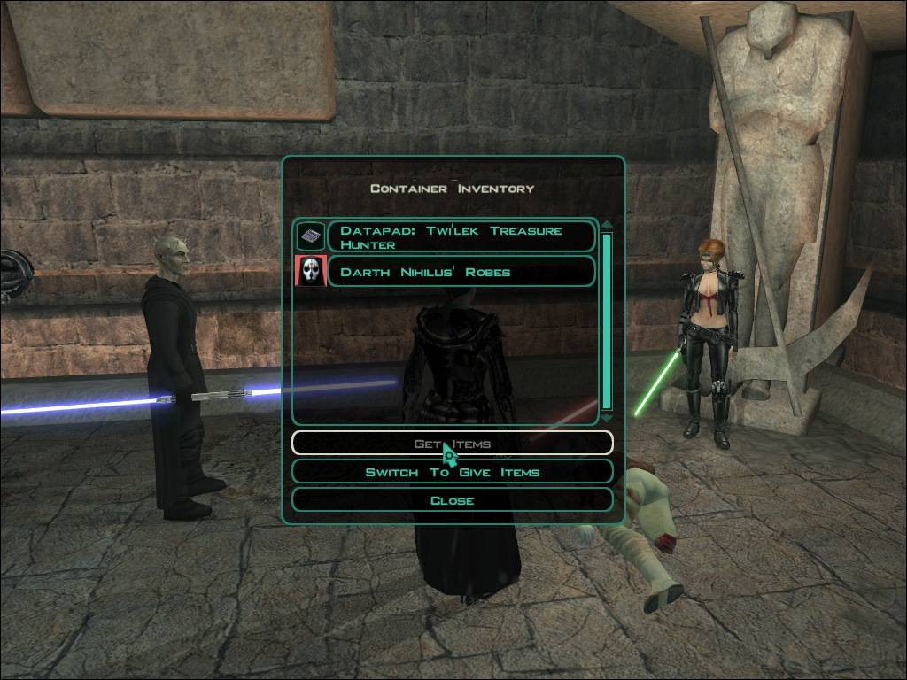 kotor 2 revan robes cheater
