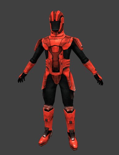 Sith Soldier armor retexture