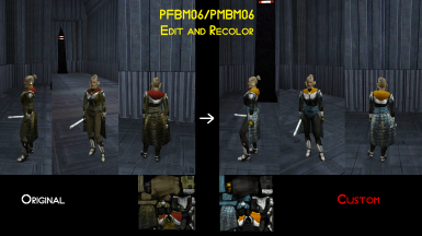 PFBM06-PMBM06 Jedi Armor edit and recolor