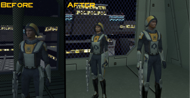 Better TSF Uniforms - HD Upscaled Textures