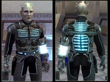 TSL Bao-Dur's Charged Armor