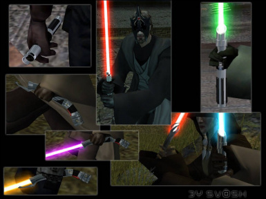 The Ultimate Saber Mod (USM) at Star Wars Knights of the Old