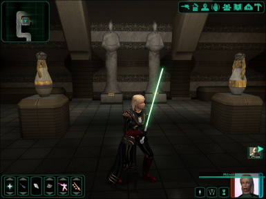 Nomi Sunrider's Prestige Class Lightsaber and Robes