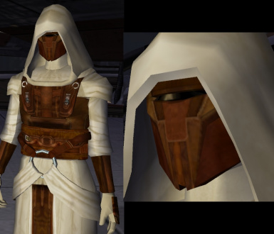 Masked Revan Star Forge Robes Mod