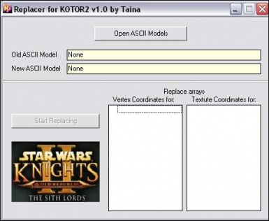 Taina's Replacer for KotOR and TSL