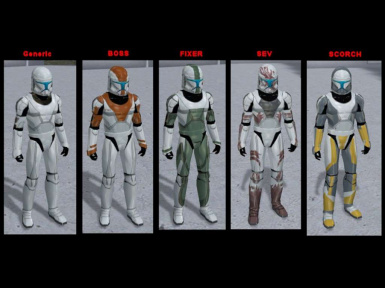 Republic Commando Armor