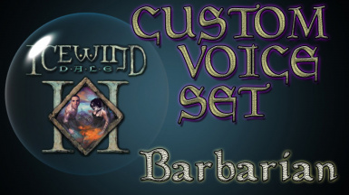 High Quality Barbarian Voice Pack