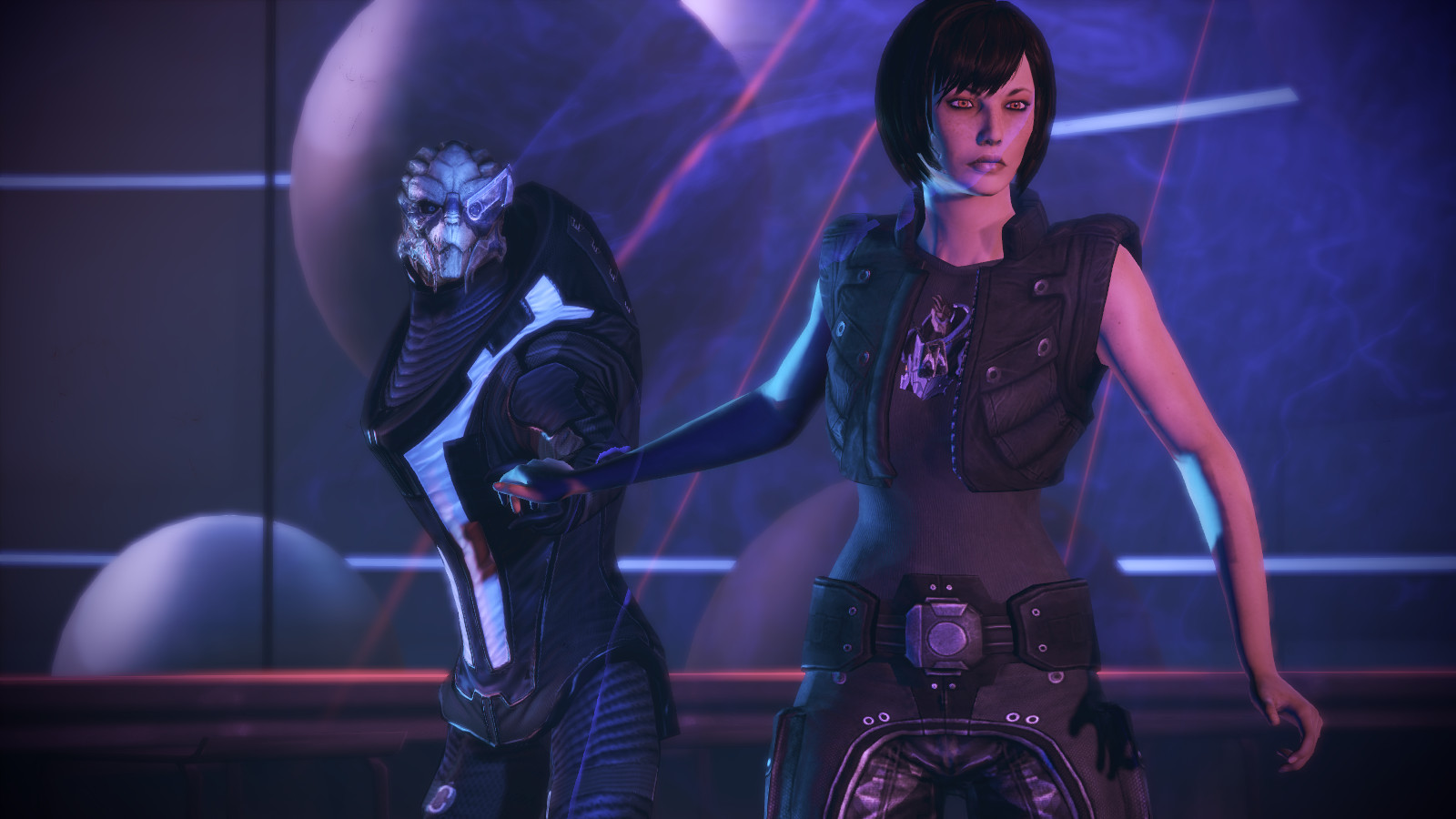 Mass effect nude texmod pron galleries