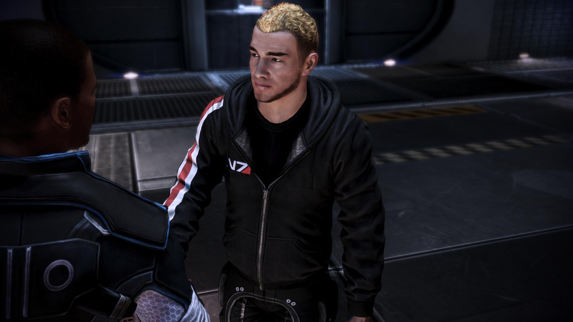 HR Hoody N7 edition at Mass Effect 3 Nexus - Mods and community