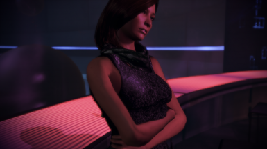 Tank Top and Scarf Casual Outfit for FemShep