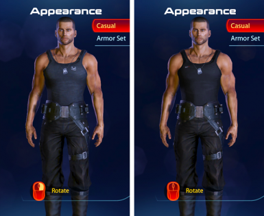 N7 and Spectre tanks with black pants