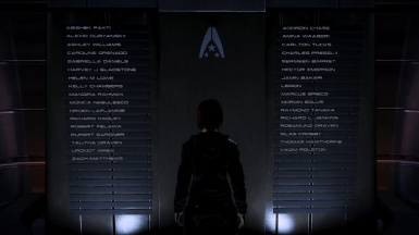 Memorial Wall Post-Horizon