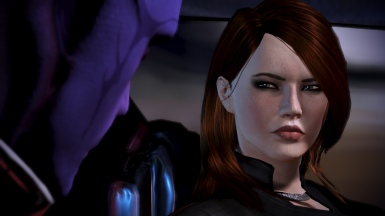 Ashley Hair for FemShep - Two Versions