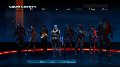 Liara select ajax glow