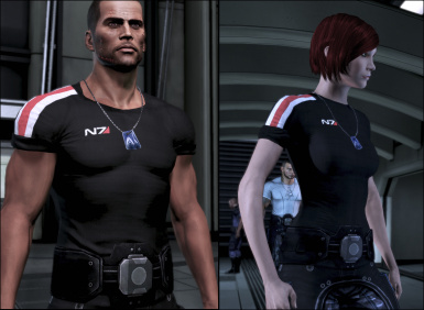 Modded Casual Outfit N7 Shirt