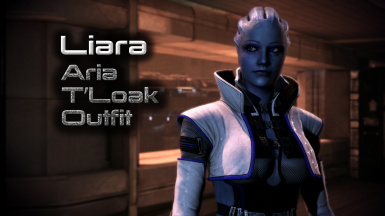Aria T'Loak Outfit for Dr. Liara T'Soni