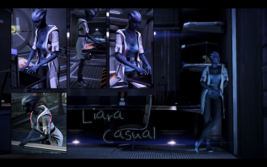 Liara Casual (only Normandy and Off-Duty hours)