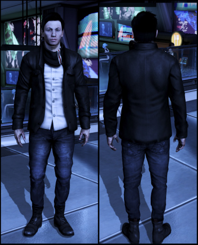 2 New Casual Outfits for Male Shepard (and edited undies model)