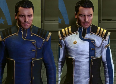 Dress Uniform for Kaidan - OUTDATED