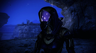 Tali face default uniform